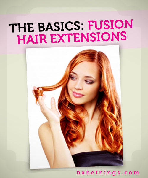 Fusion Hair Extension Basics