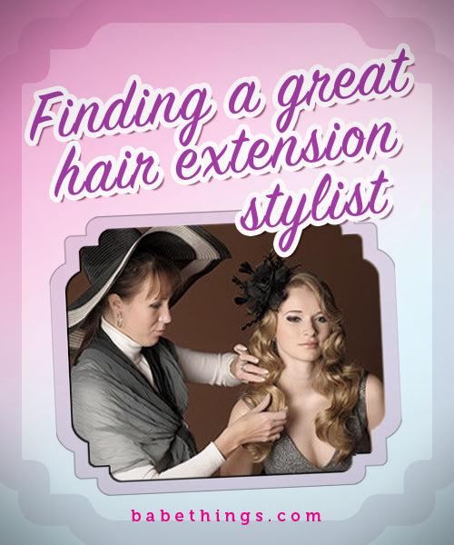 Finding a Great Hair Extension Stylist