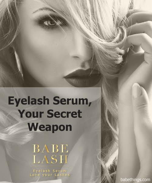 Eyelash Serum, Your Secret Weapon