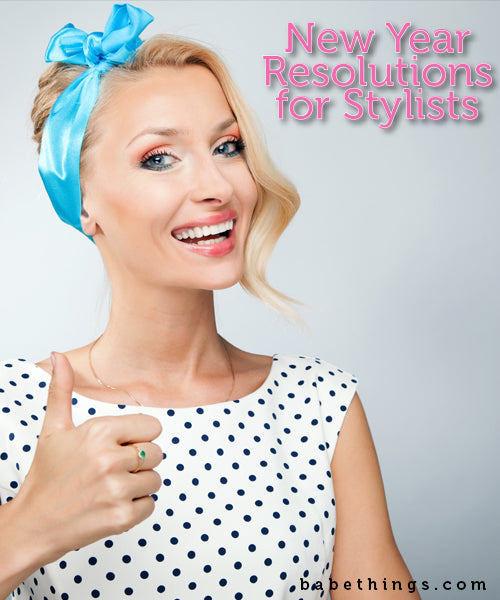 New Year's Resolutions for Stylists