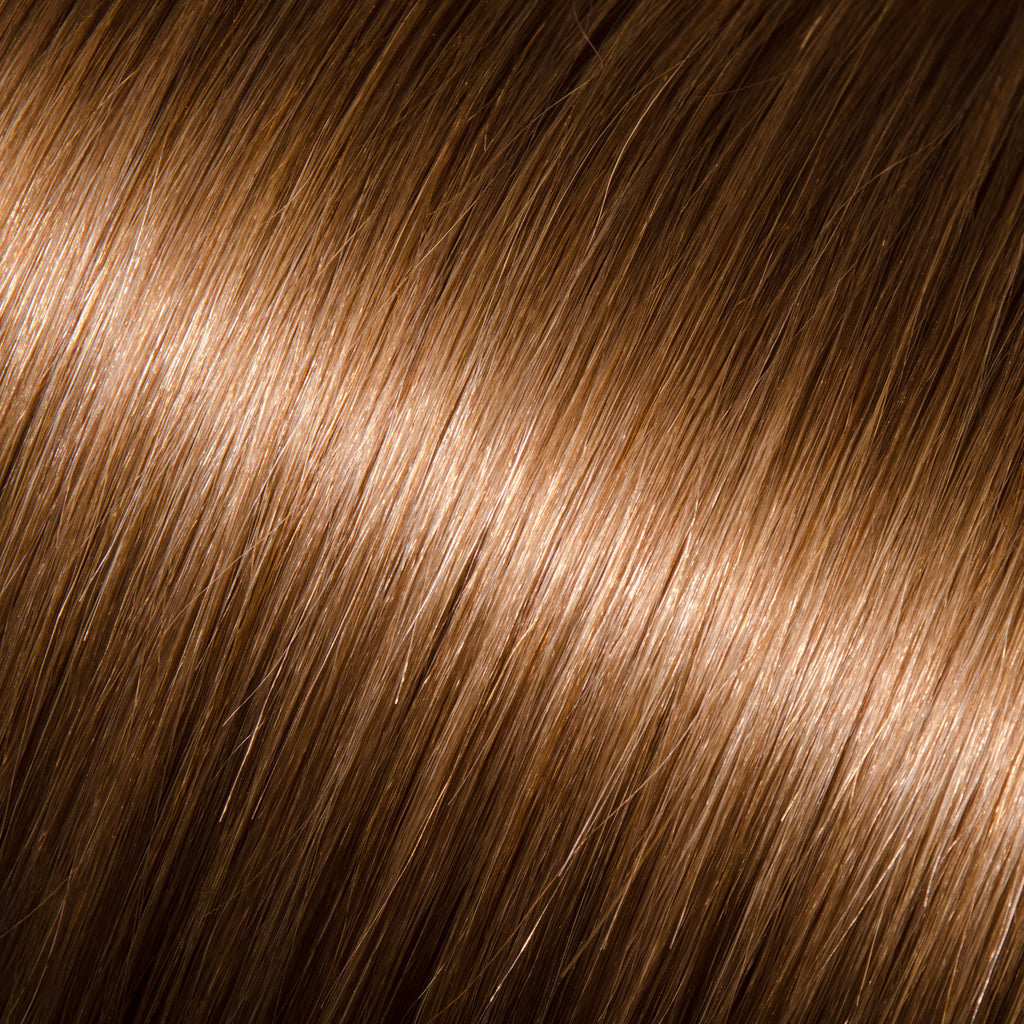 "18"" Clip In Straight Color #8 - regular (Lucy)"