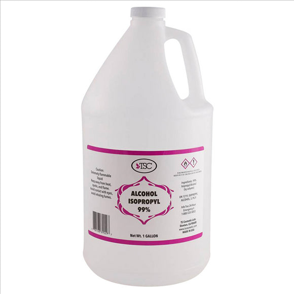 99% Rubbing Alcohol - 1 gallon