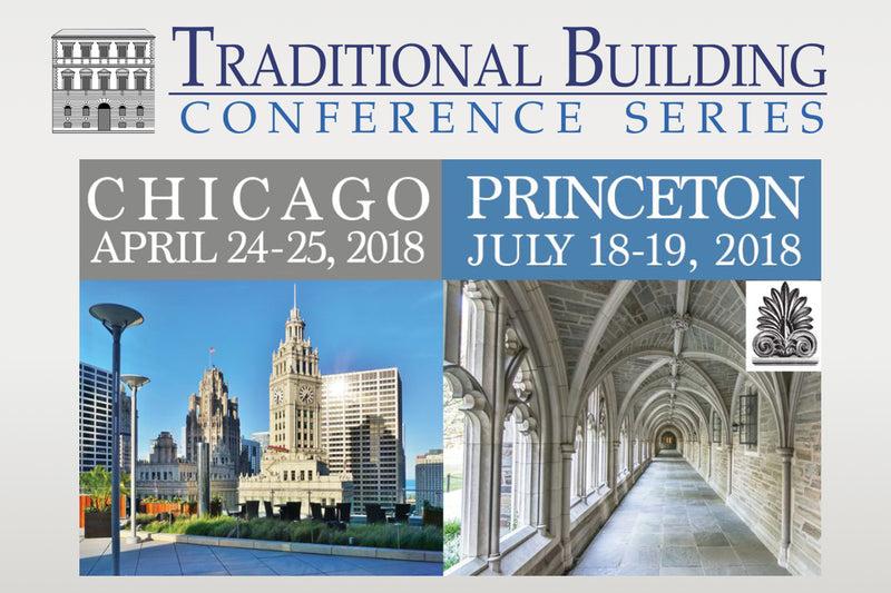 2018 Traditional Building Conference Series - Sign Up Today