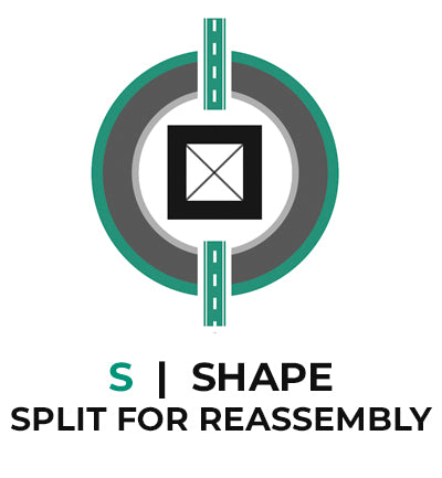 Column Base Shape S - Split for Reassembly