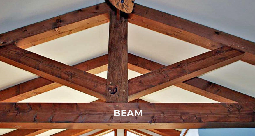wood timber beam example for brockwell incorporated's illustrated glossary
