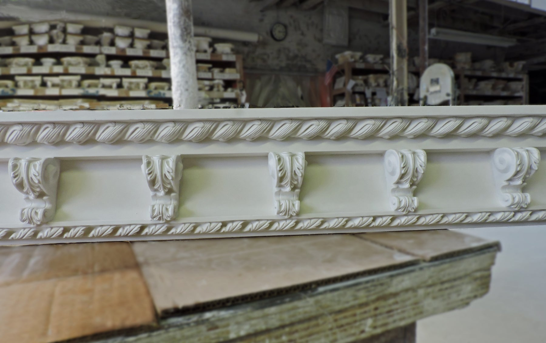 ColumnsDirect.com - Brockwell Incorporated Linear Plaster Decorative Crown Molding Designs