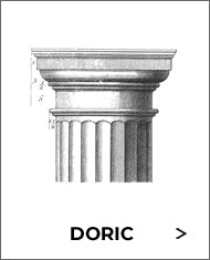 doric order classical orders of architecture black and white sketch from brockwell incorporated