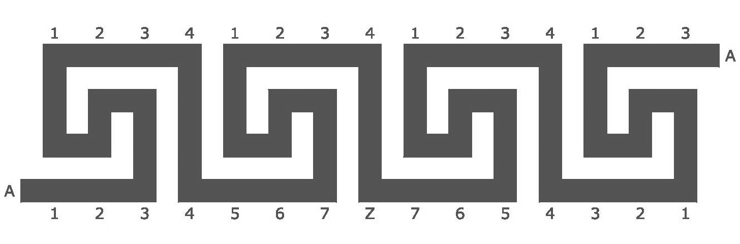 greek key pattern for brockwell incorporated's illustrated glossary of classical architectural terms