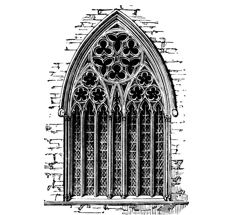 Tracery Pattern Illustrated Example - Glossary by Brockwell Incorporated