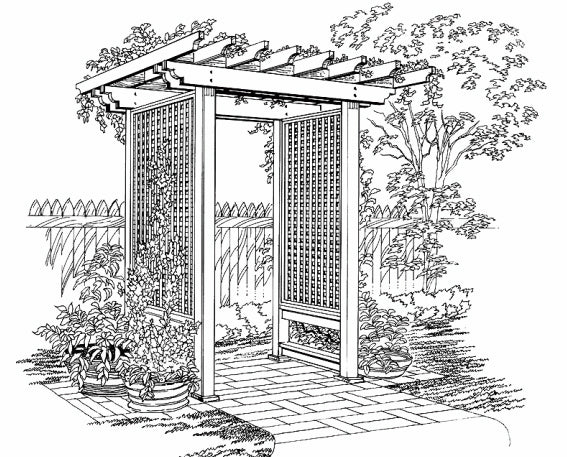 Trellis Illustration - Glossary from Brockwell Incorporated