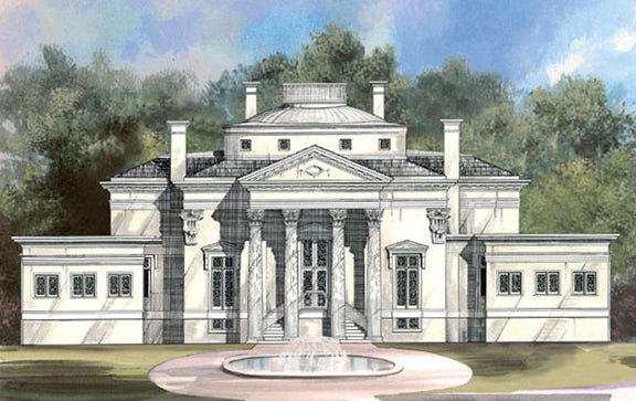 Villa Example - Ilustrated Glossary of Classical Terms - Brockwell Incorporated