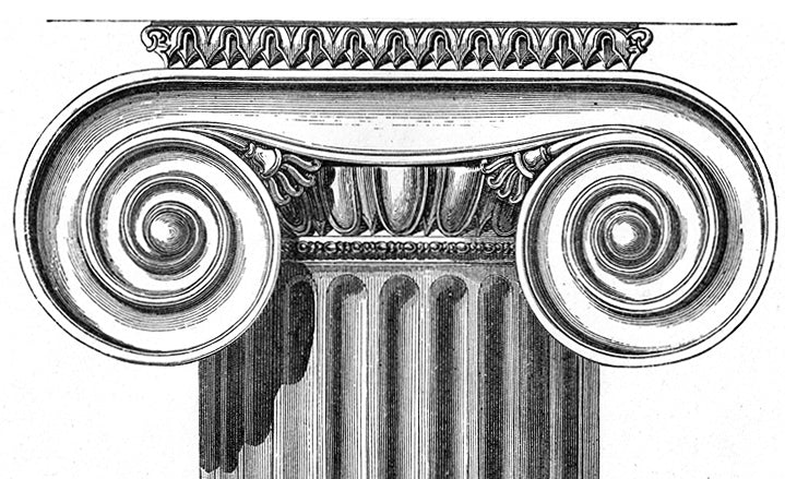 Volutes - Illustrated Glossary:  Definition of Classical Terms - Brockwell Incorporated