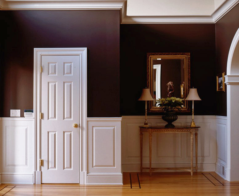 Wainscot Example - Illustrated Glossary of Classical Terms