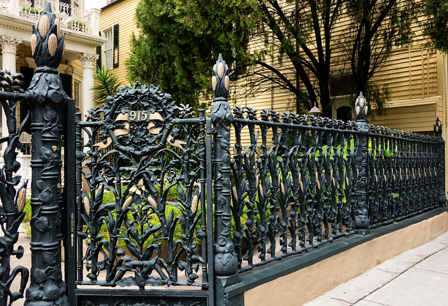 Illustrated Glossary:  Wrought Iron - Classical Terms from Brockwell Incorporated