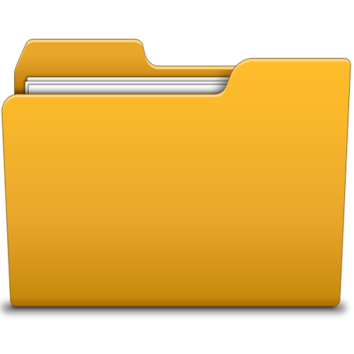 yellow manila folder icon brockwell incorporated