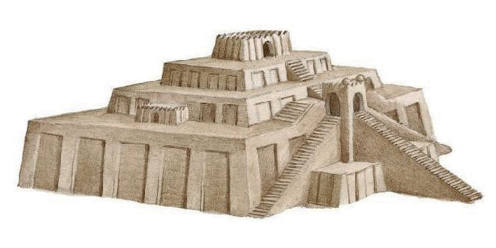 Ziggurat - Glossary of Architectural Terms - Brockwell Incorporated
