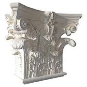 Decorative Roman Corinthian Plaster Pilaster Capital - Brockwell Incorporated