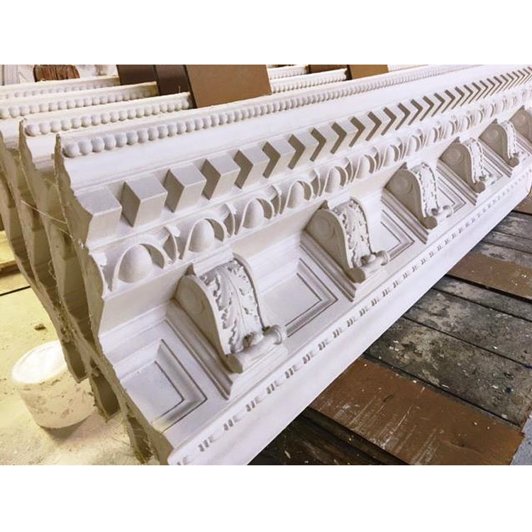 Roman style plaster crown molding by brockwell incorporated
