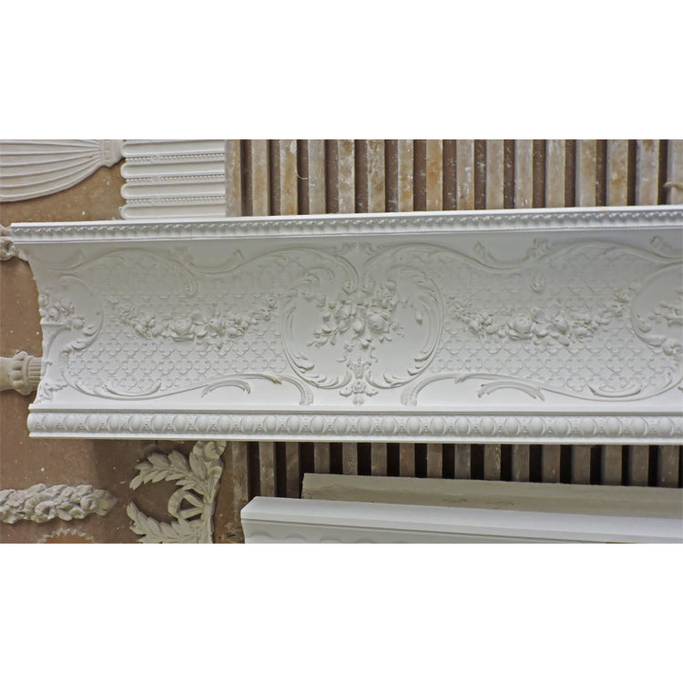 Louis XV decorative plaster crown molding designs