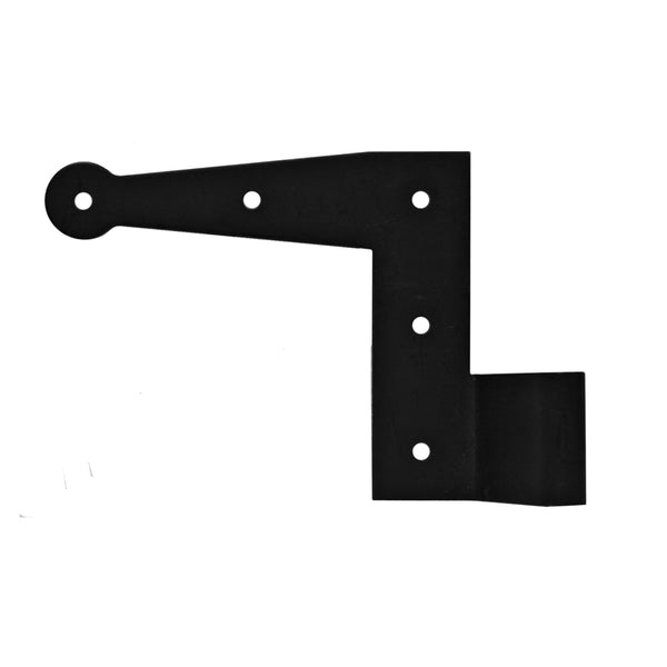 "6"" L-Hinge - (Sold as a Pair) - Shutter Hardware - [Stainless Steel] - Brockwell Incorporated"
