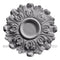 Decorative acanthus style plaster dining room ceiling medallion by Brockwell Incorporated