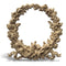 Order Brockwell Incorporated's Small Resin (Compo) Rose Wreath Applique Design