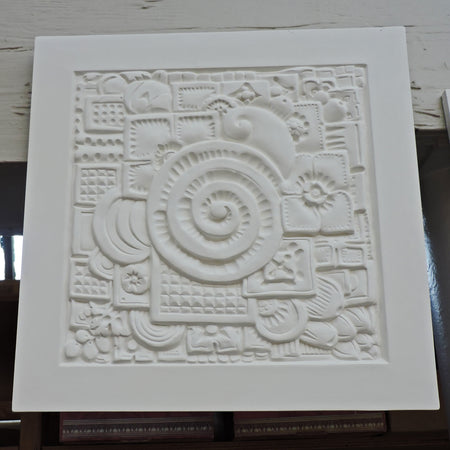 Art Deco Style Plaster Wall Panel / Medallion Design by Brockwell Incorporated