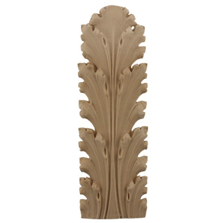 "Brockwell's 3""(W) x 8-3/4""(H) - Acanthus Leaf - Ornate Applique - [Compo Material]- - ColumnsDirect.com"