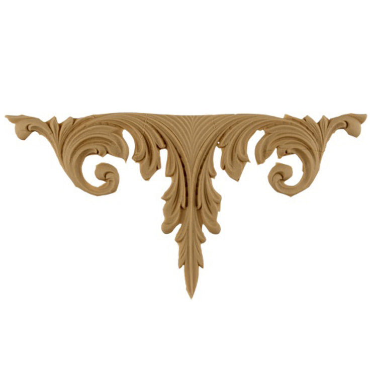 "Brockwell's 4""(W) x 7-1/2""(H) - Deco Accent - Acanthus Leaf Design - [Compo Material]- - ColumnsDirect.com"