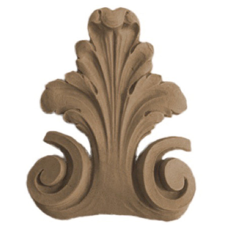"Brockwell's 3""(W) x 3-5/8""(H) - Ornate Interior Accent - Acanthus Leaf Design - [Compo Material]- - ColumnsDirect.com"