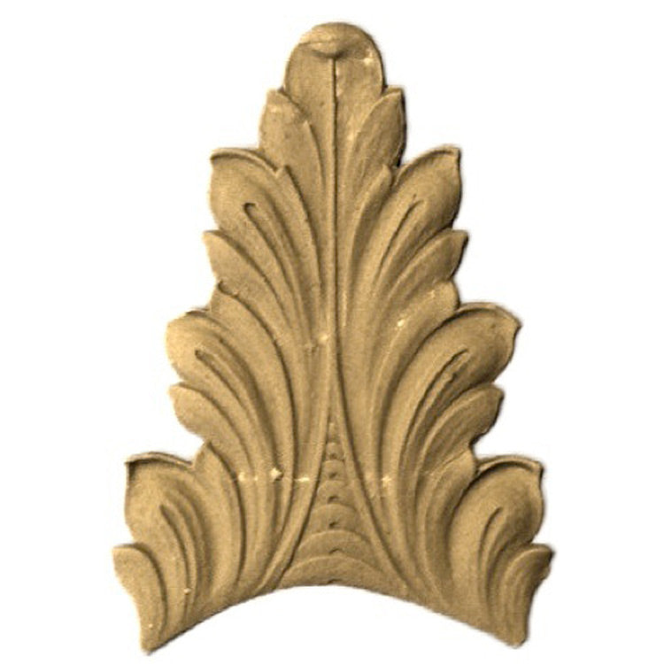 "Brockwell's 2-3/4""(W) x 5""(H) - Interior Ornament - Acanthus Leaf - [Compo Material]- - ColumnsDirect.com"