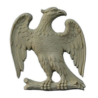 "3-1/2""(W) x 3-3/8""(H) x 1/4""(Relief) - American Eagle Design - [Compo Material] - Brockwell Incorporated"