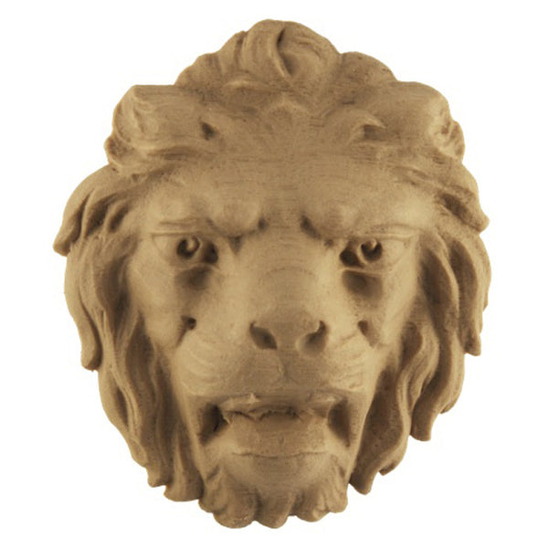 order an ornate lion's head accent for wood millwork