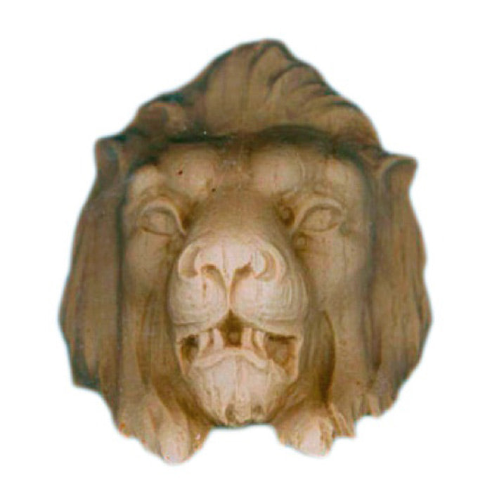 decorative lion's head for wood cabinetry