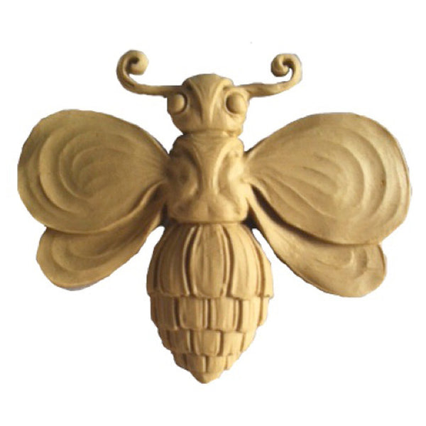 "4""(W) x 3-1/2""(H) x 1/2""(Relief) - Bee Design - [Compo Material] - Brockwell Incorporated"