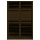 Exterior Window Shutters Additional Vertical Mullion Bahama Shutters - [Bahama Collection] - Brockwell Incorporated - ColumnsDirect.com
