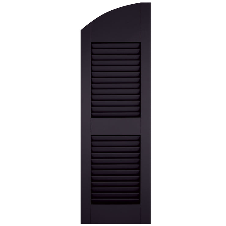 Arch (Radius Top) Faux Louver Shutters - [Classic Collection] - Brockwell Incorporated