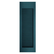 Exterior Window Shutters Custom Top or Bottom Rail Location Open Louver Shutters - [Architectural Collection] - Brockwell Incorporated - ColumnsDirect.com