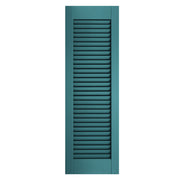 Exterior Window Shutters Standard Open Louver Colonial Shutters - [Architectural Collection] - Brockwell Incorporated - ColumnsDirect.com