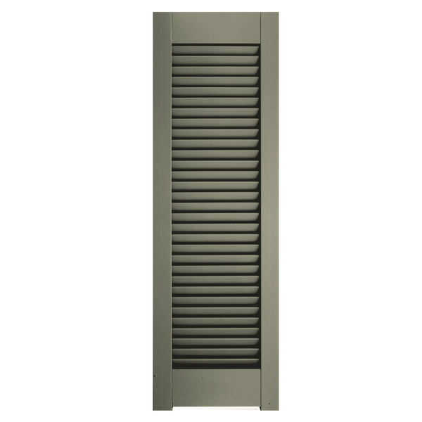 Horns Open Louver Shutters - [Architectural Collection] - Brockwell Incorporated