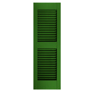 Exterior Window Shutters Additional Rail Open Louver Shutters - [Architectural Collection] - Brockwell Incorporated - ColumnsDirect.com