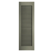 Standard Open Louver Colonial Shutters - [Architectural Collection] - Brockwell Incorporated