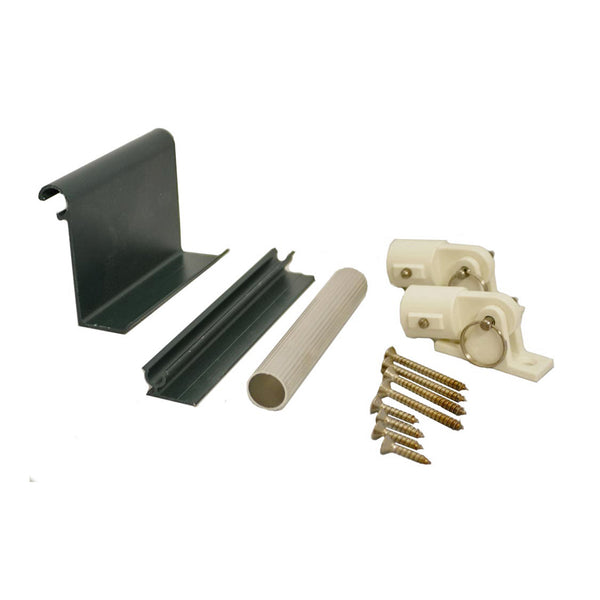 Bahama Shutters Hardware Kit - M/ F Hinges, Tilt Arms, Clevis Pins & Nylon Hinges - Brockwell Incorporated