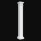 Fiberglass Column Design #BR-104-SQ - Square, Non-Tapered, Plain Tuscan Column from Brockwell Incorporated