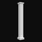 Square Fluted Fiberglass Column Design #BR-105SQ without an astragal from Brockwell Incorporated