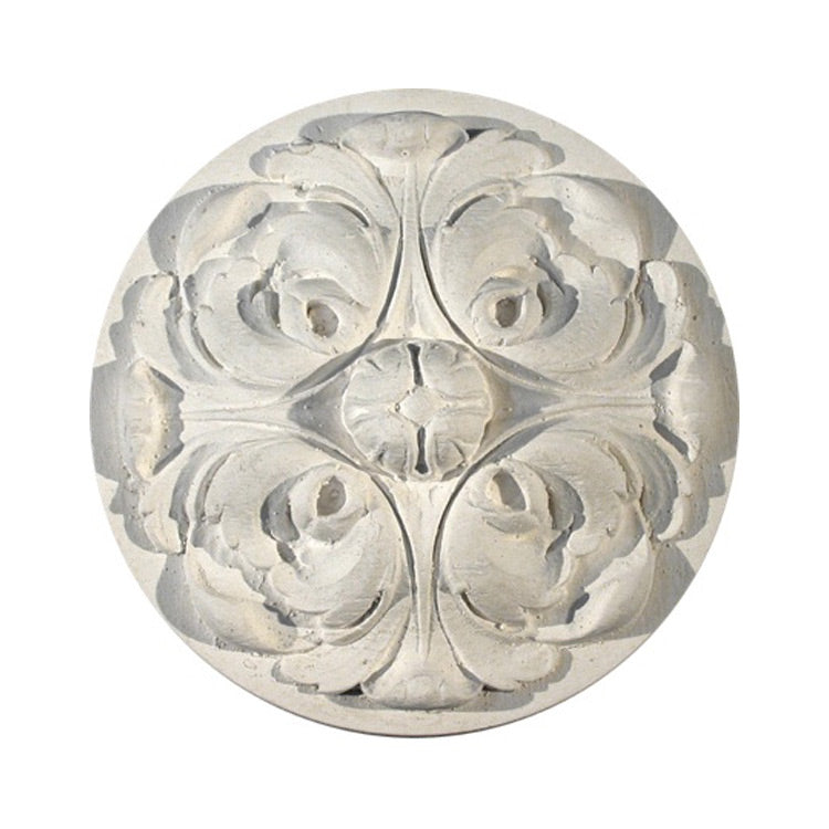 Beautiful Italian Leaf Circle Rosette - [Plaster Material] - Brockwell Incorporated