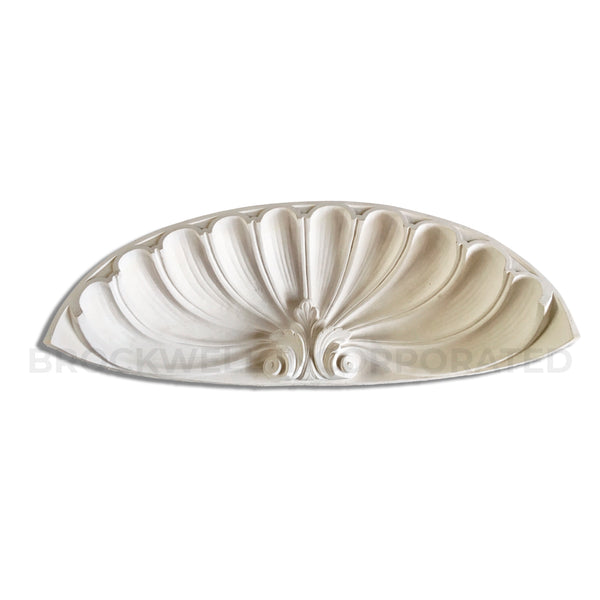 Molded Classic Plaster Shell Niche Cap - Brockwell Incorporated