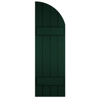 Purchase-Arch (Radius Top) Board and Batten Shutters - [Classic Collection]-Brockwell Incorporated