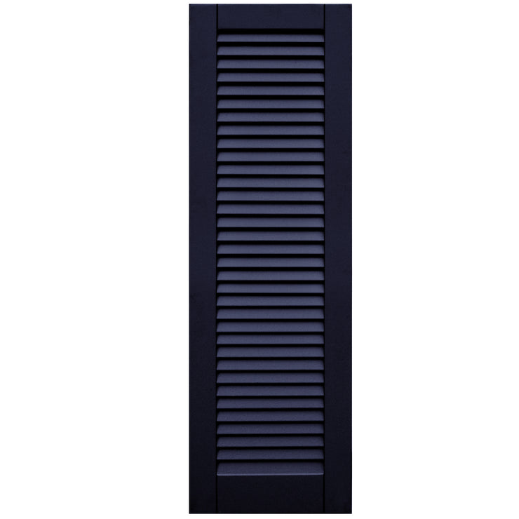 Standard Faux Louver Shutters - [Classic Collection] - Brockwell Incorporated