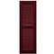 Purchase-Additional Rail Faux Louver Shutters - [Classic Collection]-Brockwell Incorporated